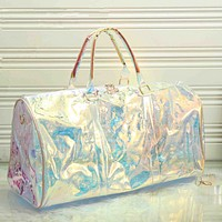 Louis Vuitton Women Laser Luggage Travel Bags Tote Handbag