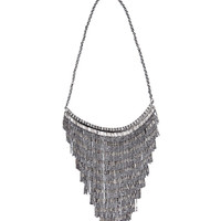 Necklace in cascading