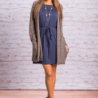 Sweet And Slouchy Cardigan, Black
