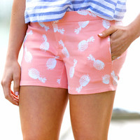 Pretty in Pineapple Shorts