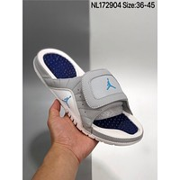 New Air Jordan cheap Men's and women's nike Slippers Beach shoes