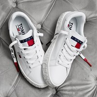 Tommy Jeans Little white shoes