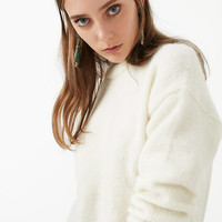 Pullover Knit Mohair Wool Sweater