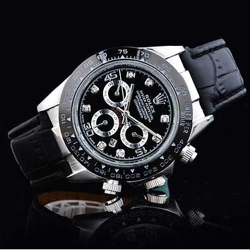 Rolex men and women trendy quartz watch F