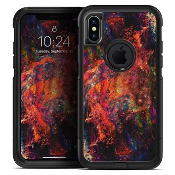 Liquid Abstract Paint Remix V65 - Skin Kit for the iPhone OtterBox Cases