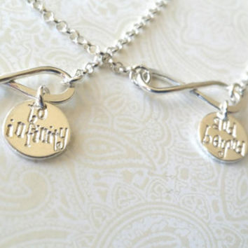 To Infinity and Beyond Infinity Matching Best Friend/Sister Bracelets-gift for Sister/Gift for Best Friend