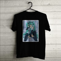 Hatsune Miku Sexy Custom T-shirt | Men T-shirt | Woman T-shirt | Tank Top | Shirts