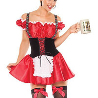 Waitress Cosplay Anime Cosplay Apparel Holloween Costume [9211506436]