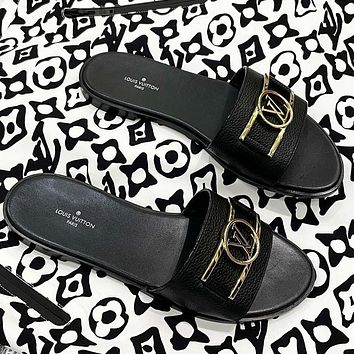 LV 2021New slippers in spring and summer