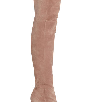 Gianvito Rossi - Suede over-the-knee boots