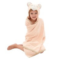 Woodland Animals: Toddler Organic Cotton Towel