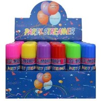 3 Cans Crazy, Party not Silly String