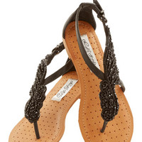 ModCloth Statement A Flight to See Sandal in Black