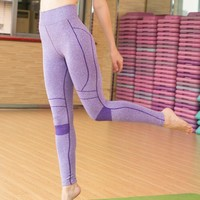 Yoga Gym Pants Winter Cropped Pants [6572498759]