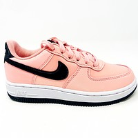 Nike Force 1 VDAY (PS) Bleached Coral Valentines Preschool Size 11 BQ6983 600