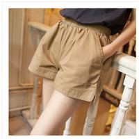 Stylish Simple Design Slim Plus Size Casual Shorts [6048827265]