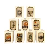 Desert Wood Votive Collection