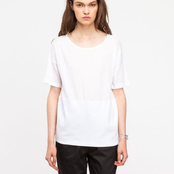 T by Alexander Wang Double Knit Combo Tee
