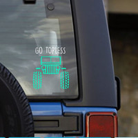 You Can Go Fast But I Can Go Anywhere Decal - Custom Decal - Jeep Life - Perfect for Yetis, Jeep, Laptop, And More!