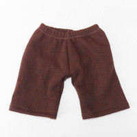 """Cabbage Patch Clothes HANDMADE Brown Pants 16"""" kids doll boy / girl- fall autumn"""