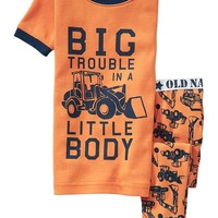 Old Navy Tractor Print PJ Sets For Baby