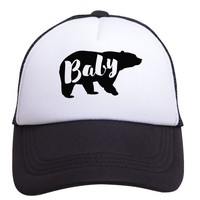 Baby Bear Trucker Hat (Baby) by Tiny Trucker Co.