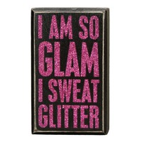 So Glam Box Sign - Small/Medium