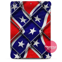Confederate Battle Flag Wire iPad Case 2, 3, 4, Air, Mini Cover
