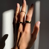 Solid Dome Band Ring