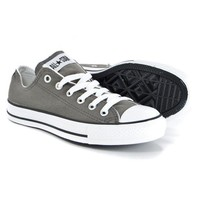 Converse Fashion Canvas Flats Sneakers Sport Shoes gray-1