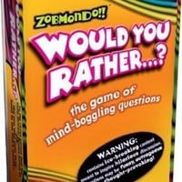 Zobmondo Would You Rather? Pocket Travel Version - Classic
