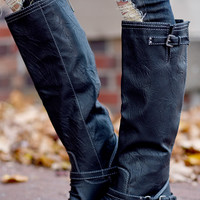 Gone Riding Boots ~ Black