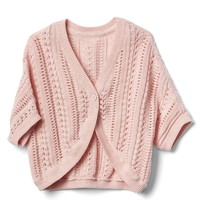 Open stitch cocoon cardigan | Gap