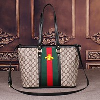 GUCCI Women's Full Letter Shoulder Bag Messenger Bag