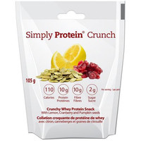 Simplyprotein Crunch - Lemon Cranberry Pumpkin Seed - 33 Grams - Pack Of 12