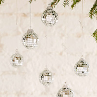 Disco Ball Ornament Set - Urban Outfitters