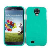Unlimited Cellular Snap-On Case for Samsung Galaxy S4 (Leather Finish Emerald Green)