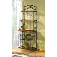 Handsome Bakers Style Wine Glass Rack