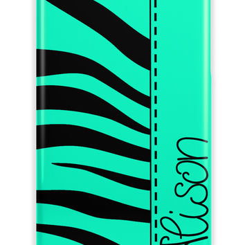 ZEBRA PRINT - PERSONALIZED IPHONE CASE FOR GIRLS