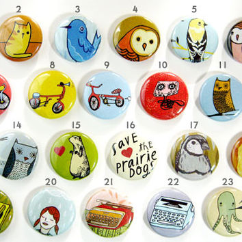 Mix and Match Buttons (set of 4)
