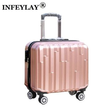 18 inch Suitcase Travel luggage rolling suitcase  business