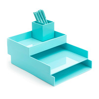 Aqua Desktop Set