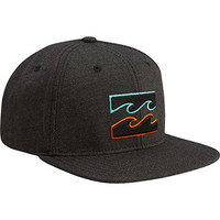 Billabong Boys' All Day Snapback Trucker Hat Charcoal Heather One Size