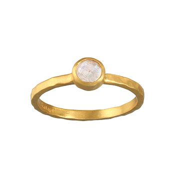 Soulful Substance Moonstone Ring