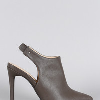 Anne Michelle Pointy Toe Mule Pump
