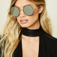 Tribal Pattern Round Sunglasses