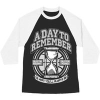 A Day To Remember Men's  2nd Sucks Baseball Jersey Black Rockabilia