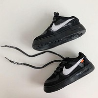 NIKE OFF-WHITE x Air Force 1 2.0 Baby shoes-1