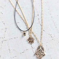 Power Of 3 Layering Necklace Set