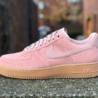 KUYOU Nike Air Force 1 '07 LV8 Suede Particle Pink AA1117-600
